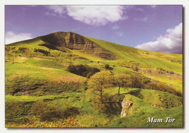 Mam Tor, Derbyshire, England