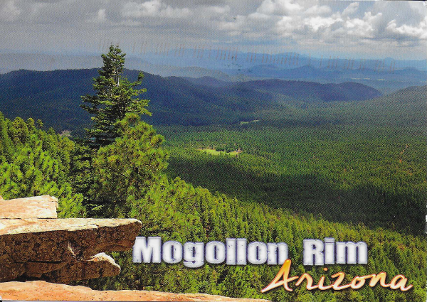 Mogollin Rim, Arizona, USA