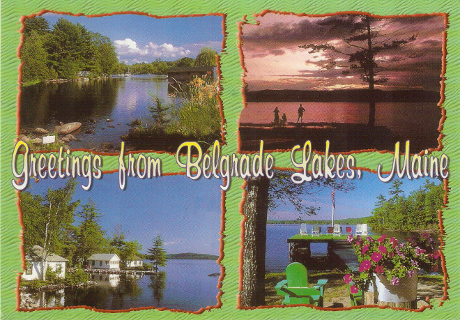 Belgrade Lakes, Maine, USA